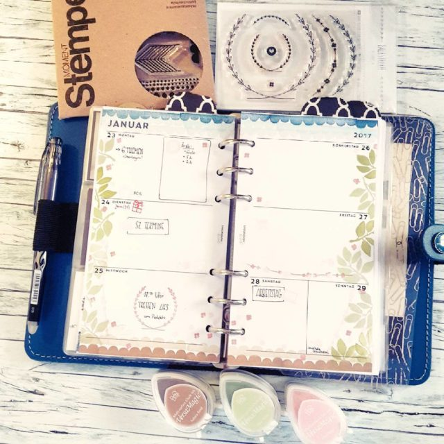 This week in my filofax Looks like spring  buthellip
