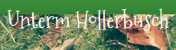 Unterm Hollerbusch