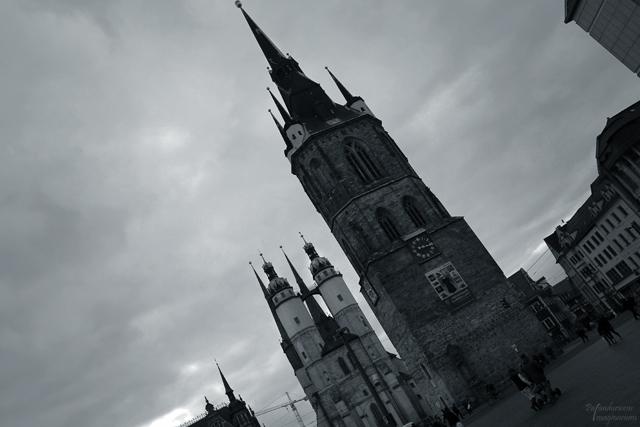 Die Stadt der 5 Türme - Roter Turm mit Marienkirche.