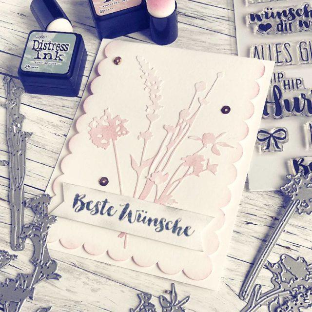 Wildflowercard I loooove these thinlits!!! Im Blog zeig ich euchhellip