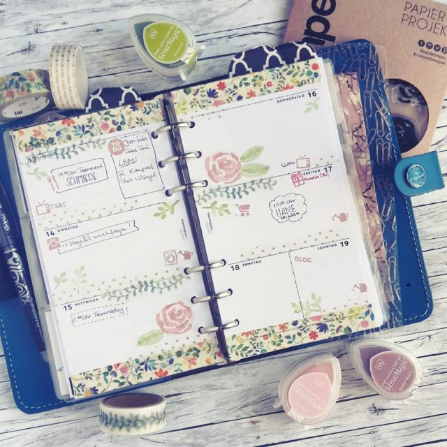 This week in my filofax Spring is almost here! hellip