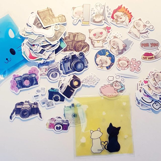 Totally in looove Arent these sticker cute as hell? Ganzhellip