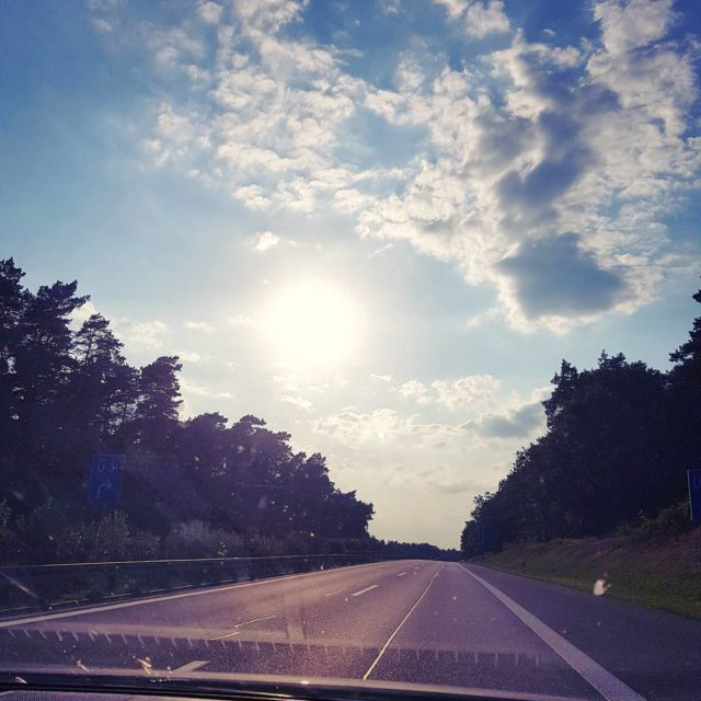 Hello empty streets Hello sunshine Hello vacation car roadtrip sunsethellip